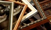 The Warehouse of Home Decor - Vineyard: $27 for $100 Worth of Custom Framing and Mirrors at The Warehouse of Home Decor