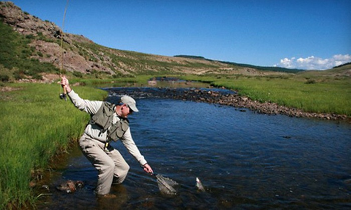 Taos Fly Shop - Taos: $169 for a Six-Hour Guided Fly-Fishing Trip for Two from Taos Fly Shop ($350 Value)