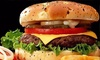 Eeshi's Kitchen - London: Burger and Chips for Two or Four at Eeshi's Kitchen (Up to 40% Off)
