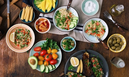 Mediterranean Meal Plan: Two $9, Three $19 or Six Months $29 from Meals Maker Up to $167.01 Value