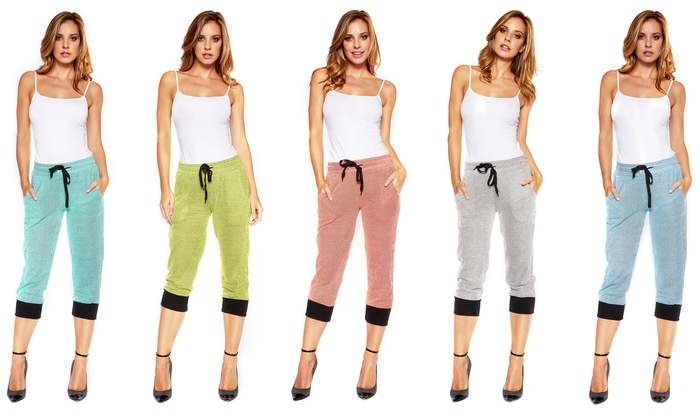 Women's Capri Jogger Pants | Groupon Goods