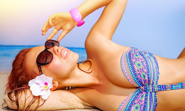 Private Party Studio - Folsom: A Custom Airbrush Tanning Session at Private Party Studio (70% Off)