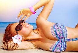 Private Party Studio: A Custom Airbrush Tanning Session at Private Party Studio (70% Off)