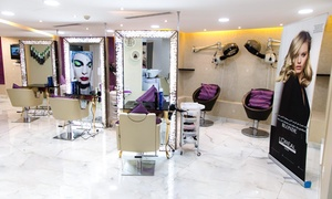 Pishon Beauty Salon: Cut, Wash and Blow-Dry with Optional Root Colour and Aloe Vera Hair Treatment at Pishon Beauty Salon (Up to 70% Off)