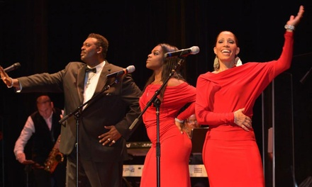 Luther Vandross Re-Lives Tour ' Luther Vandross Tribute on Saturday, April 29, at 7pm.