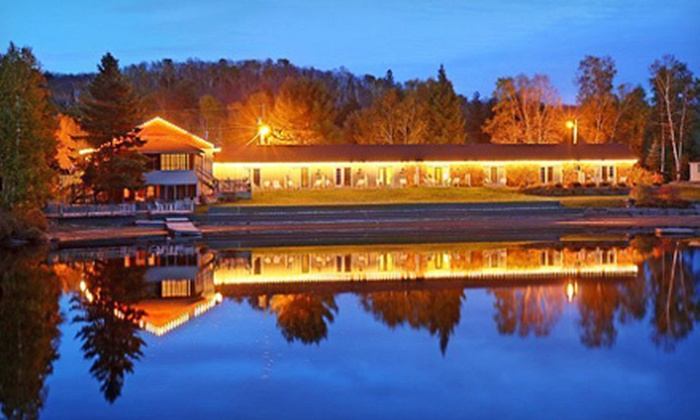Algonquin Lakeside Inn - Dwight: Two-Night Stay for Two with Park Visit at Algonquin Lakeside Inn (Up to 56% Off). Four Options Available.