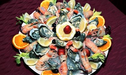 ? Menu di pesce da 3 o 4 portate con vino per 2 o 4 persone al Tempio di Bacco (sconto fino a 69%). Prenota&Vai!