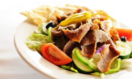 Two Groupons, Each Valid for $10 Worth of Greek Food at Papa Gyros (40% Off)