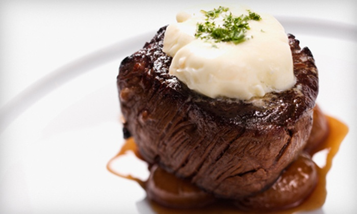 Timber Lodge - Northwest Oklahoma City: Steakhouse Dinner for Two or Four or $15 for $30 Worth of American Fare at Timber Lodge in Kingfisher