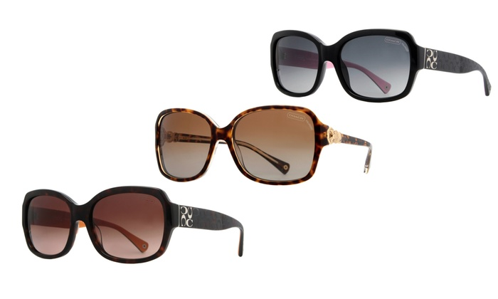 Coach Women S Sunglasses  coach women s sunglasses groupon goods