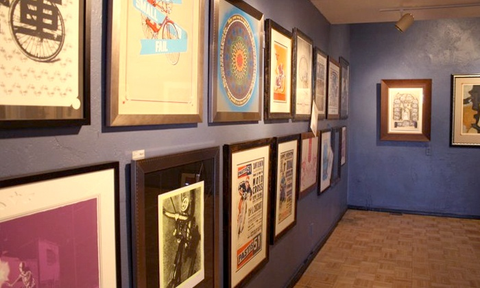 Borealis Arts - Multiple Locations: Custom Framing at Borealis Arts (Up to 57% Off). Two Options Available.