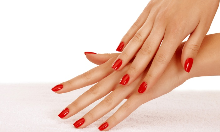 Glo Spa - Stonegate - Queensway: One or Three Shellac Manicures at Glo Spa (Up to 59% Off)