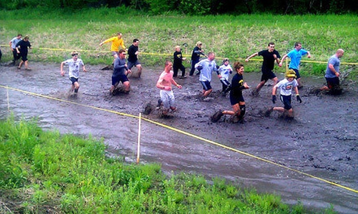Sleepy Hollow Sports Park - Des Moines: $35 for 5K Kosama Warrior Water Run on Saturday, July 14 at Sleepy Hollow Sports Park (Up to $70 Value)