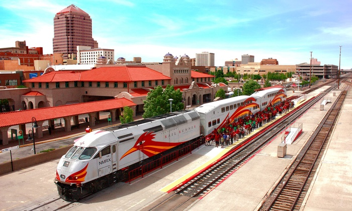 New Mexico Rail Runner Express - Albuquerque: $5 for Unlimited All-Zone Day Train Pass on New Mexico Rail Runner Express ($11 Value)