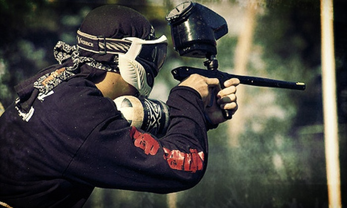 Paintball Adventure Park - 1, Taneytown: All-Day Paintball Outing for One or Two at Paintball Adventure Park (Up to 57% Off)