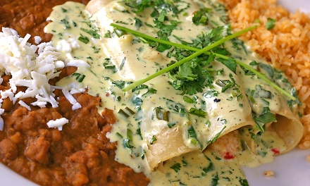 Mexican Food and Drinks for Take-Out or Dine-In at Casa Fiesta (Up to 52% Off)