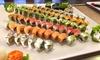 Sushi box con 34 o 68 pezzi