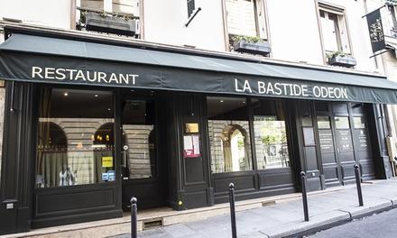 Dîner aux saveurs du sud avec entrée, plat et dessert pour 2 personnes à 49,90 € à la Bastide Odéon à St Germain