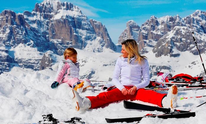 Włoskie Alpy: 8 dni dla 1 osoby z noclegami w hotelu 3*, wyżywieniem i skipassem z biurem CK České Kormidlo