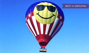 Heart of Texas: Hot Air Ballon Rides: Hot Air Balloon Ride for One, Two, or Eight from Heart of Texas Hot Air Balloon Rides (Up to 53% Off)