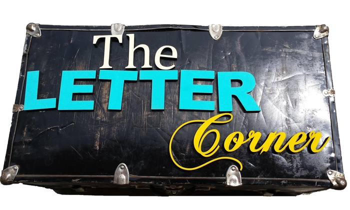 The Letter Corner: Wooden Signs and Home Accents from The Letter Corner (Up to 50% Off). Three Options Available.