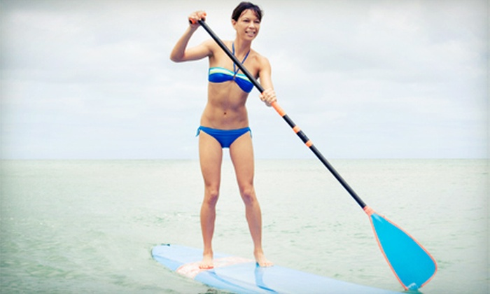 StandUp Paddle Bend - Southern Crossing: $22.49 for an All-Day Paddleboard Rental from StandUp Paddle Bend ($45 Value)