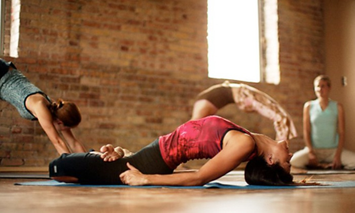 Centered City Yoga - East Central: 10 or 20 Classes at Centered City Yoga