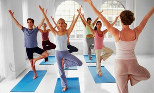 Good Karma Yoga Studio: $41 for One Month of Unlimited Yoga Classes at Good Karma Yoga Studio ($99 Value)