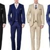 Braveman Men's Classic-Fit Suits (3-Piece)
