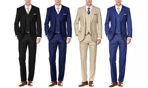 Braveman Men's Classic-Fit Suits (3-Piece)