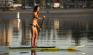 Phins Water Sports Club: One- or Two-Hour Standup-Paddleboard or Kayak Rental at Phins Water Sports Club (Up to 58% Off)