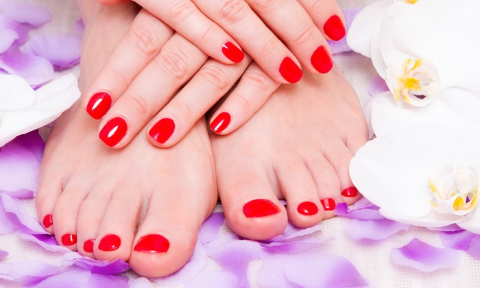 Beverly Hills Day Spa - Destin Harbor: Manicures and Pedicures at Beverly Hills Day Spa (Up to 56% Off). Four Options Available.