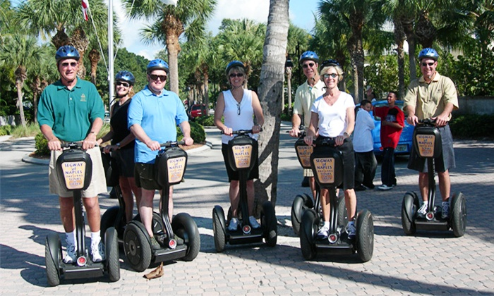 Naples Segway Tours - Naples Trolley Tours: Segway Tour for One, Two, or Four from Naples Segway Tours (Up to 41% Off)