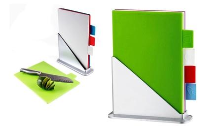 Multicolored Cutting-Board Set (5-Piece)