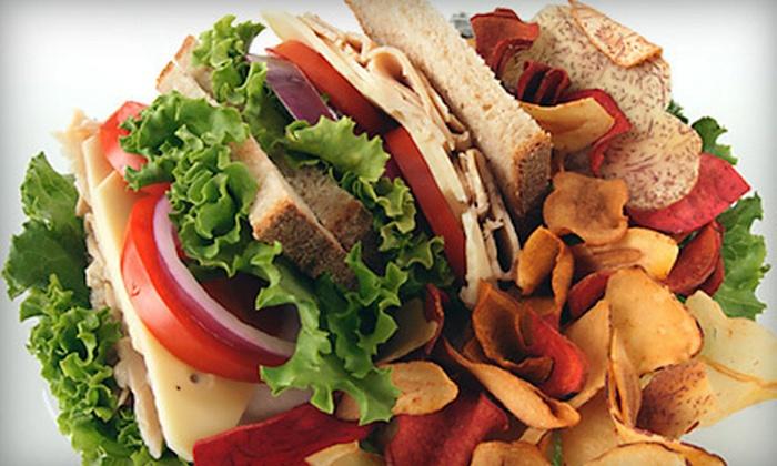 Yofé Fresh Fruit & Yogurt Café - Cultural District: $10 Worth of Sandwiches, Salads, and Fro-Yo