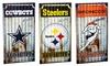 NFL Corrugated Metal Wall Art: NFL Corrugated Metal Wall Art