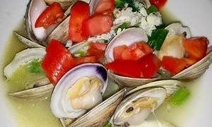 Wharf House Restaurant: Seafood for Two or Four at Wharf House Restaurant (Up to 48% Off)