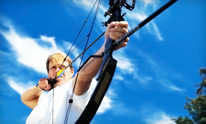 Deer Creek Archery - 3, Bel Air: Archery Outings for Two or Three or 10 Open-Range Sessions at Deer Creek Archery in Churchville (Up to 81% Off)