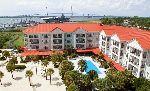 Charleston Harbor Resort and Marina - Patriots Point: Stay with Daily Breakfast for Two at Charleston Harbor Resort and Marina in Mount Pleasant, SC. Dates into September.