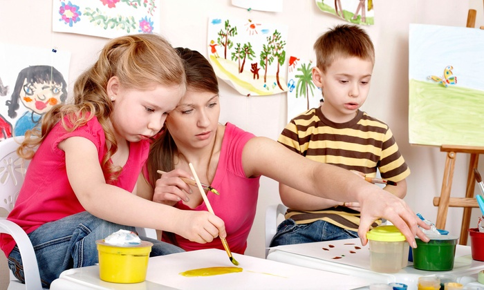 Young Artist Art Studio - Multiple Locations: One Month of Art Classes or Private Art Party for Up to Eight Kids at Young Artist Art Studio (Up to 58% Off)