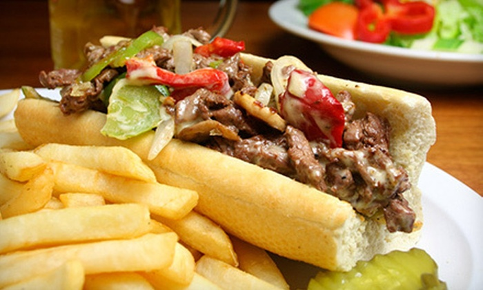 Sports Grille Boston - Downtown: Bar Food at Sports Grille Boston (Up to 56% Off). Two Options Available.