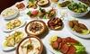 Le relais du Liban - Pessac: Assortiment de 10 plats à partager (Mezzés) + Desserts & Boissons chaudes OU 2 menus Cèdre à 39,90€ au Relais du Liban