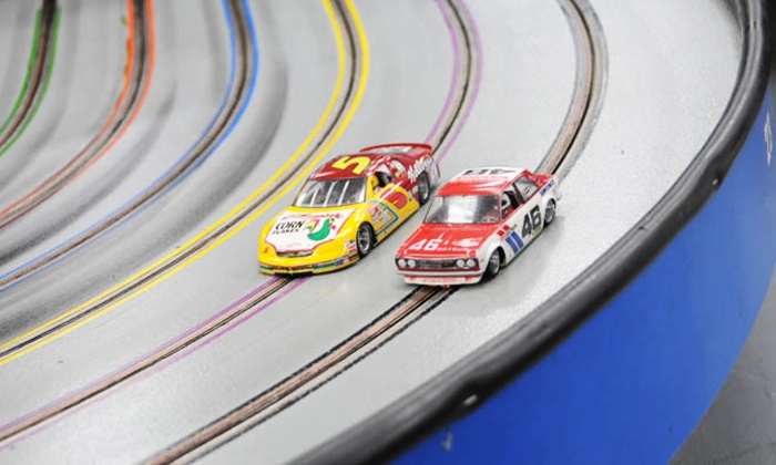 Buena Park Raceways - Buena Park: One-Hour of Slot-Car Racing with Car Rental for Two or Four at Buena Park Raceways (Up to 52% Off)