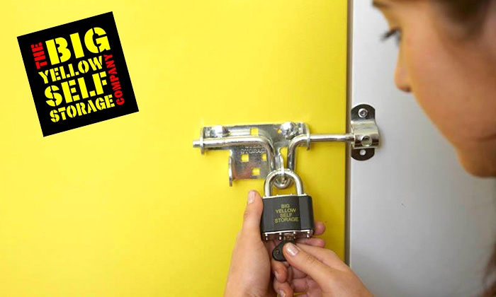 Big Yellow Self Storage - Multiple Locations: £5 for £50 Toward Storage Space at Big Yellow Self Storage, Multiple Locations (90% Off)
