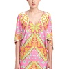 Trina Turk Women's Woodblock Multicolor Tunic