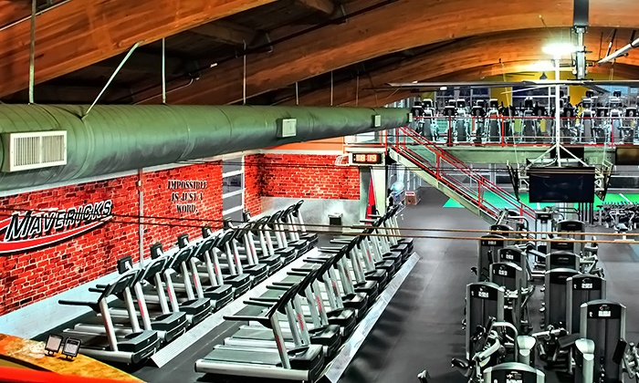 Mavericks Gym - San Buenaventura (Ventura): One- or Three-Month Gym Membership with Optional Personal-Training Session at Mavericks Gym (Up to 78% Off)
