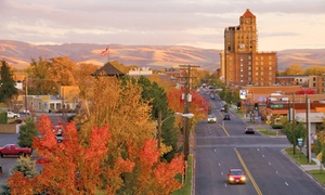 Stay At Marcus Whitman Hotel & Conference Center In Walla Walla, Wa. Dates Into March.