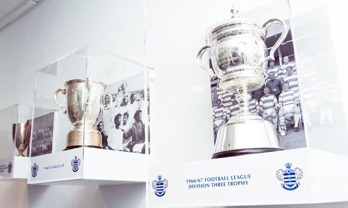 QPR FC - London: Queens Park Rangers: Loftus Road Self-Guided Stadium Tour for £7.50 (50% Off)