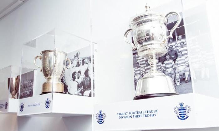 QPR FC - London: Queens Park Rangers: Loftus Road Self-Guided Stadium Tour for £7.50 (50% Off)