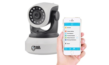 Black Label Cam WiFi Surveillance Camera